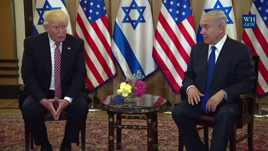 Tổng thống Donald Trump có mối quan hệ thân thiết với Thủ tướng Netanyahu và cả hai đang hướng tới hiệp ước phòng thủ chung Mỹ - Israel