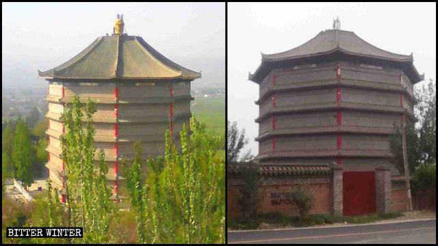"""Trung Quốc: Tượng Phật, tượng Đạo """"mất tích"""" khắp nơi"""
