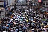 Người dân Hồng Kông tiếp tục diễu hành vào chiều ngày 15/9
