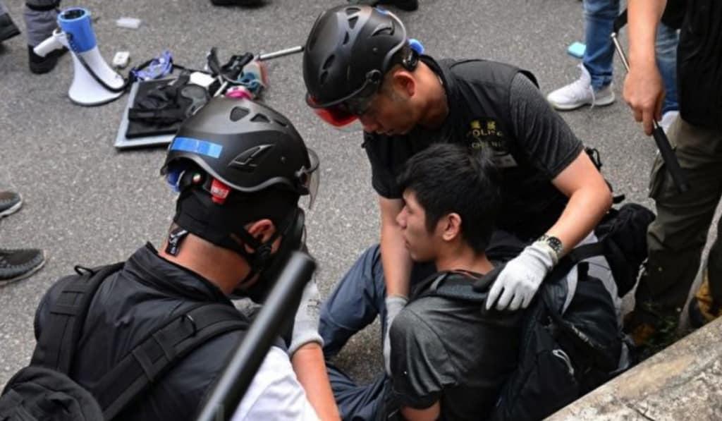 Biểu tình tại Hồng Kông ngày 21/9