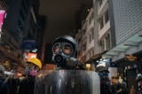 Thanh niên Đài Loan gửi tặng mặt nạ chống khói cho Hồng Kông