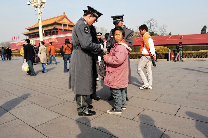 Thiên An Môn, kiểm tra an ninh