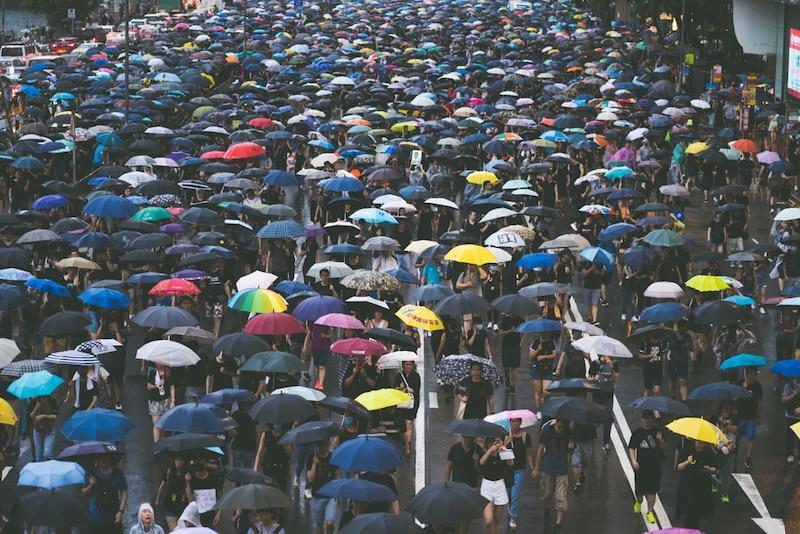 phản đối luật dẫn độ, biểu tình Hồng Kông