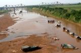 thiếu nước mùa cạn