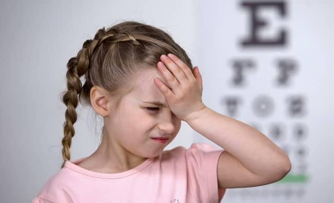 thị lực, chăm sóc mắt, cận thị, mỏi mắt