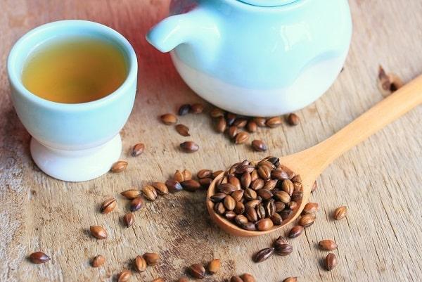 trà lúa mạch, giải độc ruột