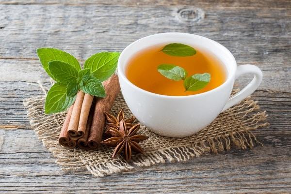 giảm cân, trà quế