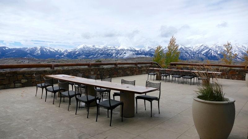 Amangani, khách sạn trên núi