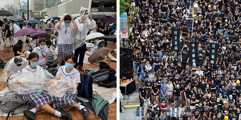 Người Hồng Kông không phải người Trung Quốc? Hs-SV-Hong-Kong