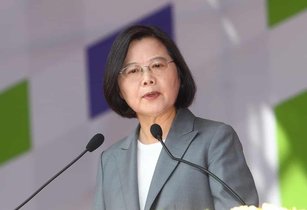 Bà Thái Anh Văn kêu gọi người dân Đài Loan đồng lòng bác bỏ mô hình một nước, hai chế độ.