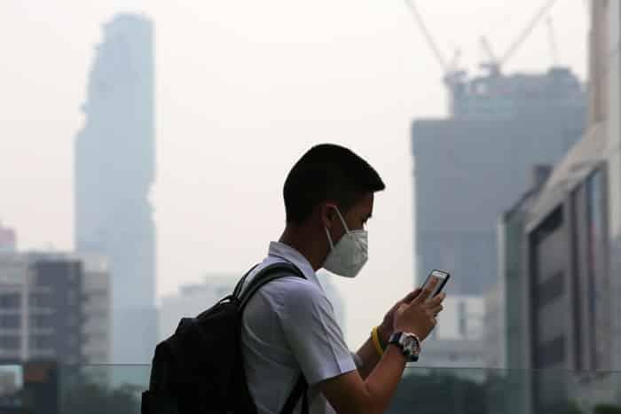 bangkok ô nhiễm, bụi mịn