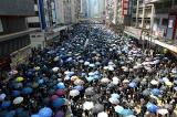 """Biểu tình ở Hồng Kông ngày 1/10: """"Không có quốc khánh, chỉ có quốc tang"""""""