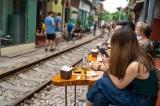 cafe đường tàu