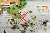Atlas of the World Picture Book, đường lưỡi bò