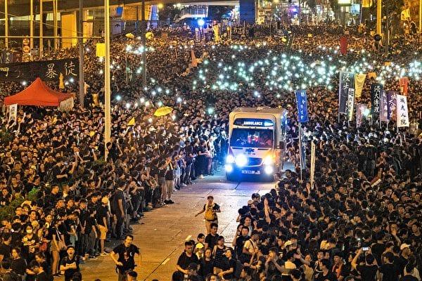 Nobel Hòa bình, Hồng Kông