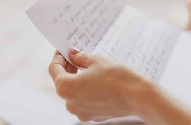 lá thư, lắng nghe