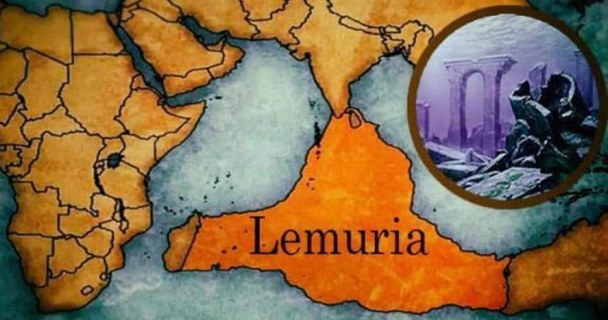 nền văn minh Lemuria ở Ấn Độ Dương