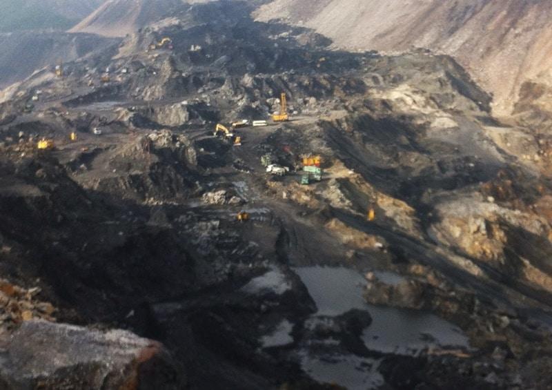 mỏ than, khai thác than