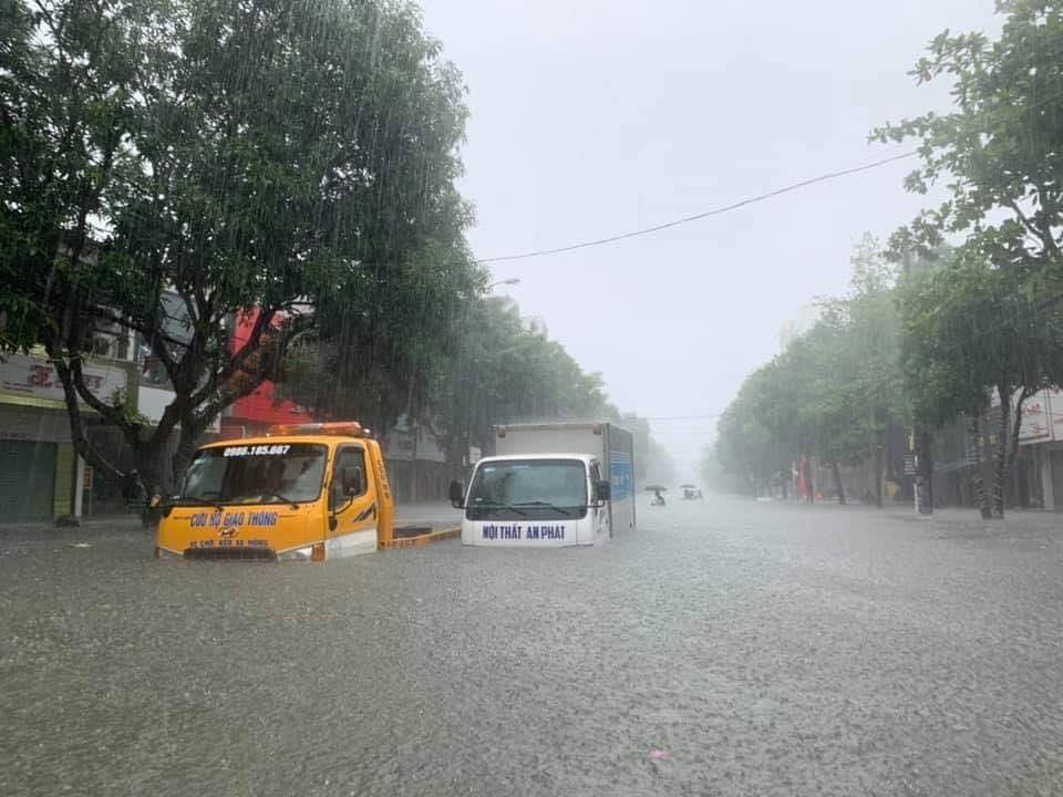mưa lớn Nghệ An