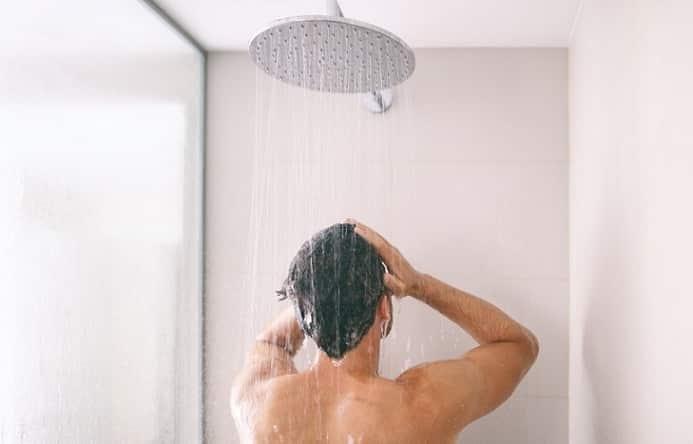 tắm sáng, thói quen tắm,