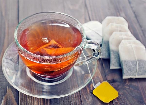 trà túi lọc, uống trà