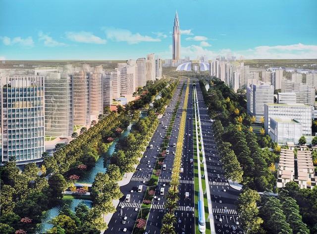 siêu dự án khu đô thị, tòa tháp 108 tầng