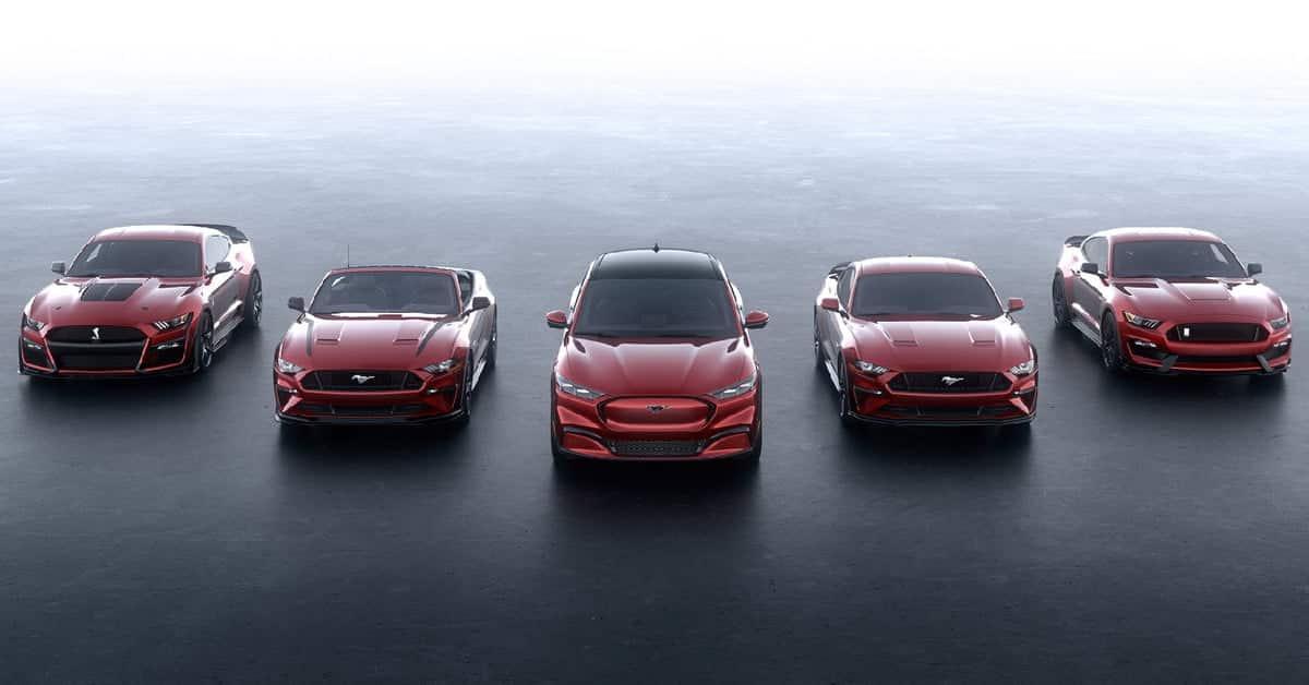 Ford ra mắt dòng xe hơi điện cao cấp Mustang Mach-E