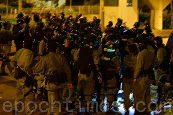 Cảnh sát Hồng Kông, Đại học Bách khoa Hồng Kông