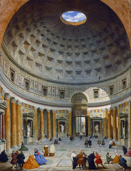 Đền Pantheon: Kỳ quan kiến trúc cổ đại - Ngôi đền của các vị thần