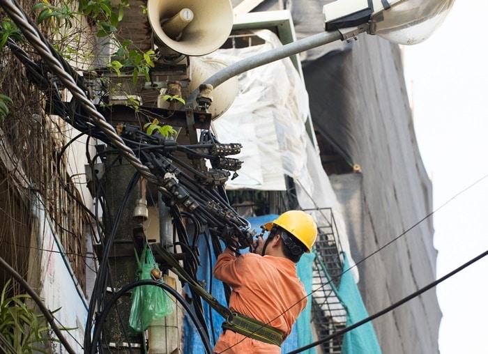 EVN, thiếu điện, điện chạy dầu