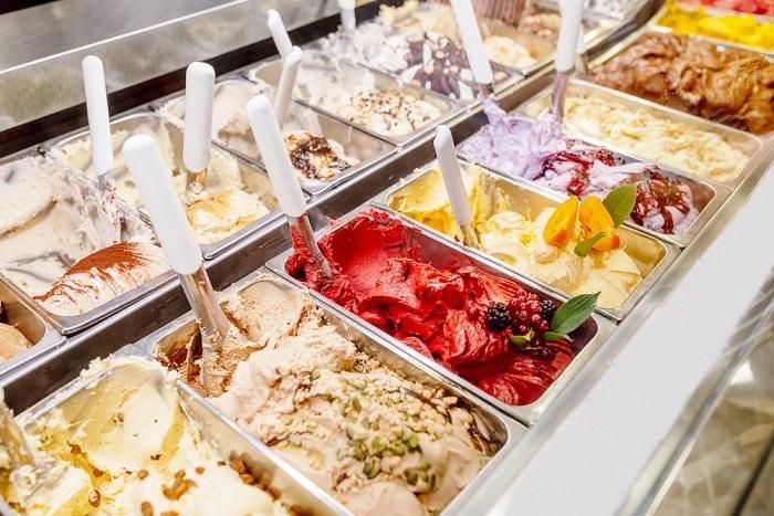 ẩm thực Ý, món ăn Ý, kem Gelato, du lịch Ý