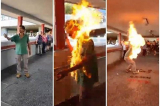 Nhiều nghi ngờ về vụ phóng hỏa đốt người tại Hồng Kông hôm 11/11