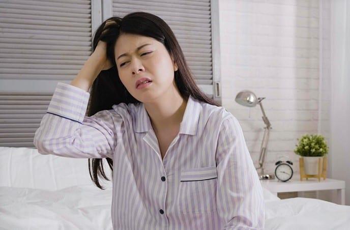 đau đầu, thức dậy