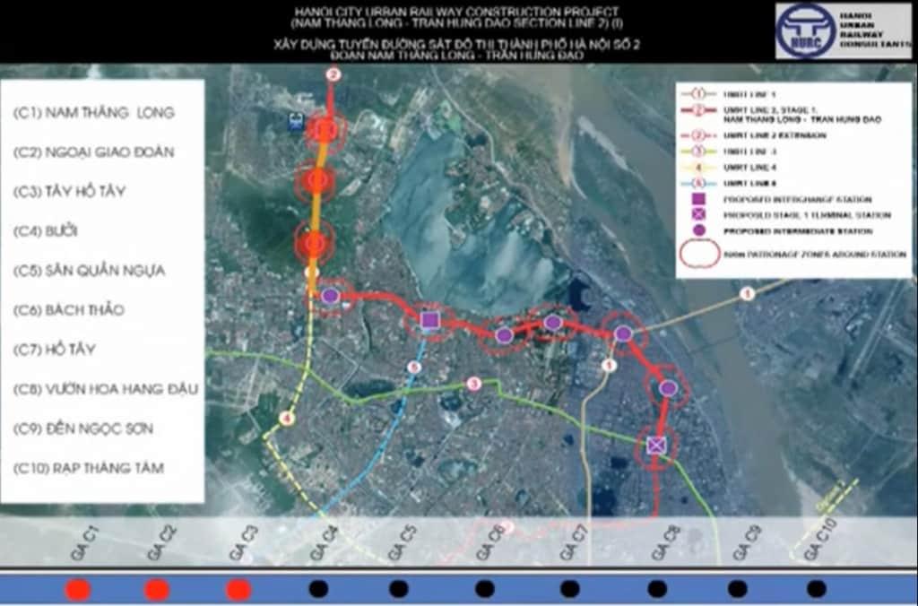 Dự án đường sắt đô thị TP Hà Nội