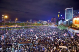 Người Hồng Kông mít tinh Lễ Tạ ơn để cảm ơn Mỹ