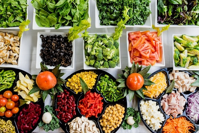 món salad, salad