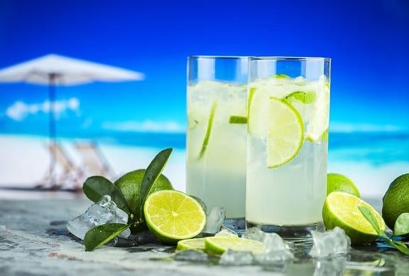 nước chanh, thức uống làm sạch thận
