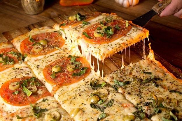 du lịch Ý, pizza Ý