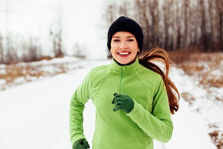 mùa đông, tập thể dục