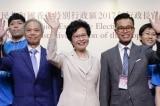 Chồng và hai người con trai của bà Carrie Lam đang có quốc tịch Anh.