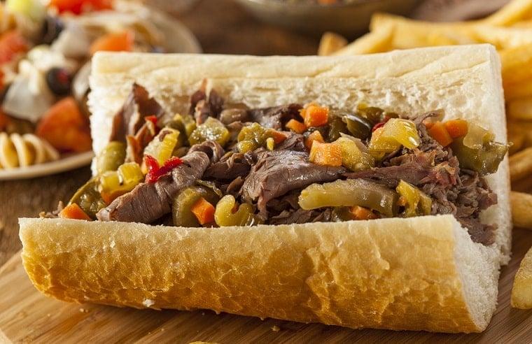 Thịt bò Ý, ẩm thực Chicago, Italian Beef, du lịch Chicago