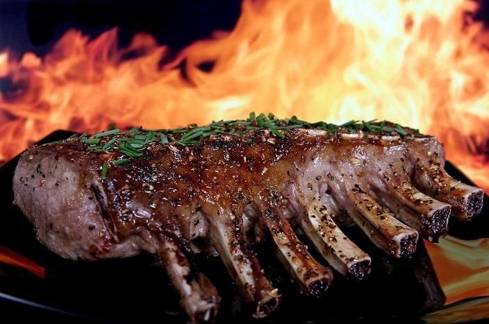 Thịt nưỡng Chicago, thịt nướng