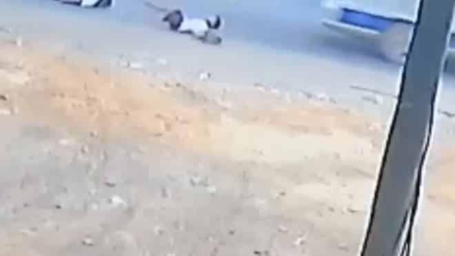 học sinh bị văng xuống đường từ xe đưa đón, Đồng Nai