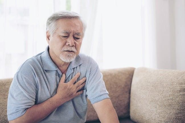 tức ngực, đau tim, lão hóa