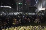 Người Hồng Kông tổ chức tưởng niệm Châu Tử Lạc tối ngày 9/11
