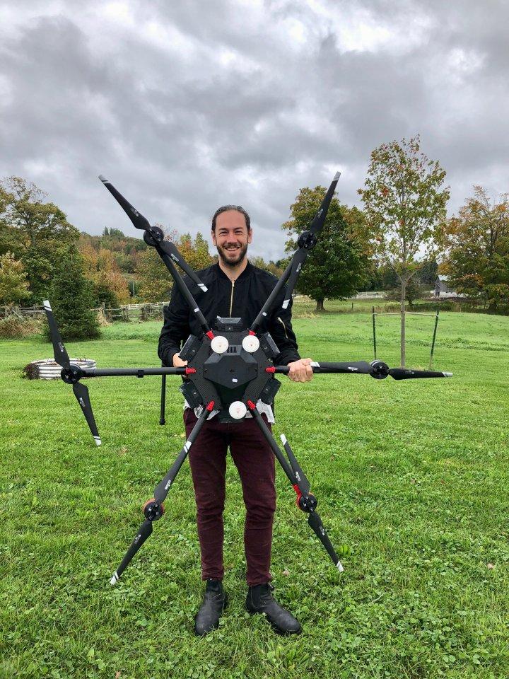 Dự án dùng máy bay drone để trồng mới 1 tỷ cây xanh