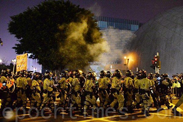 Lựu Đạn hơi cay, Cảnh sát Hồng Kông