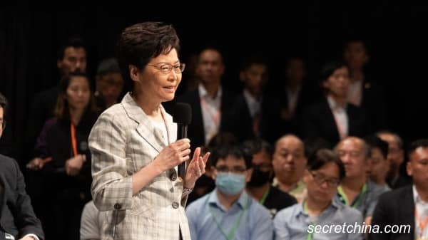 Lâm Trịnh Nguyệt Nga, Carrie Lam