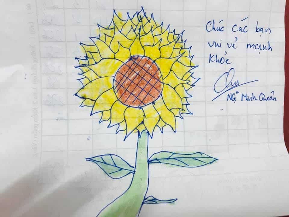 ước mơ của thúy, hoa hướng dương