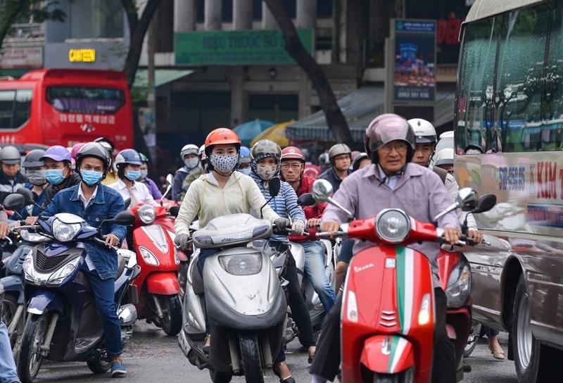 giao thông TP.HCM, ô nhiễm không khí
